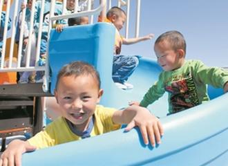 新疆:农村孩子都能免费就近入园
