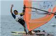 世界青年帆船锦标赛中国队旗开得胜