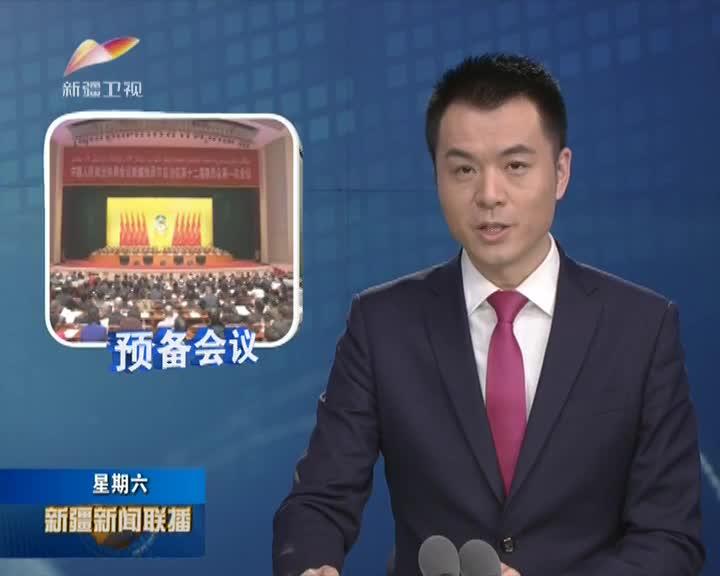 自治区政协十二届一次会议举行预备会议