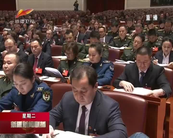 自治区十三届人大一次会议举行第二次全体会议