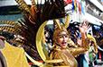 葡萄牙举办桑巴狂欢大游行