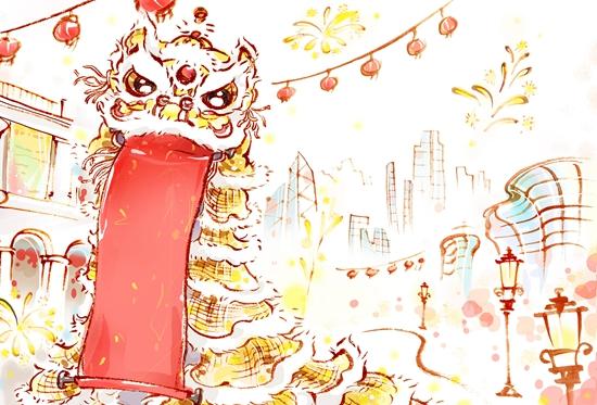 澳门美高梅线上开户:透过万家灯火_春节在发展中变幻光彩