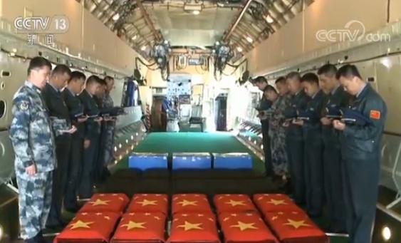 澳门赌城网址大全:英烈们终于回家了!第五批在韩志愿军烈士遗骸回国
