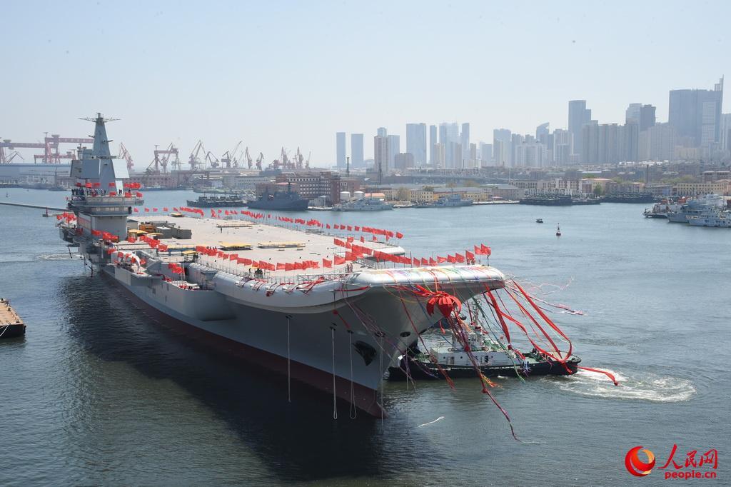 重庆时时走势图怎么看:专家:首艘国产航母或近期海试_下半年有望交付海军