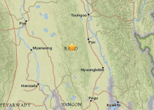 澳门送彩金的网站:缅甸南部发生5.1级地震_震源深度10公里