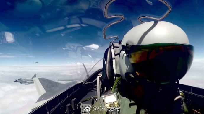 金沙最新娱乐平台:中国空军歼-20战机首次开展海上方向实战化训练
