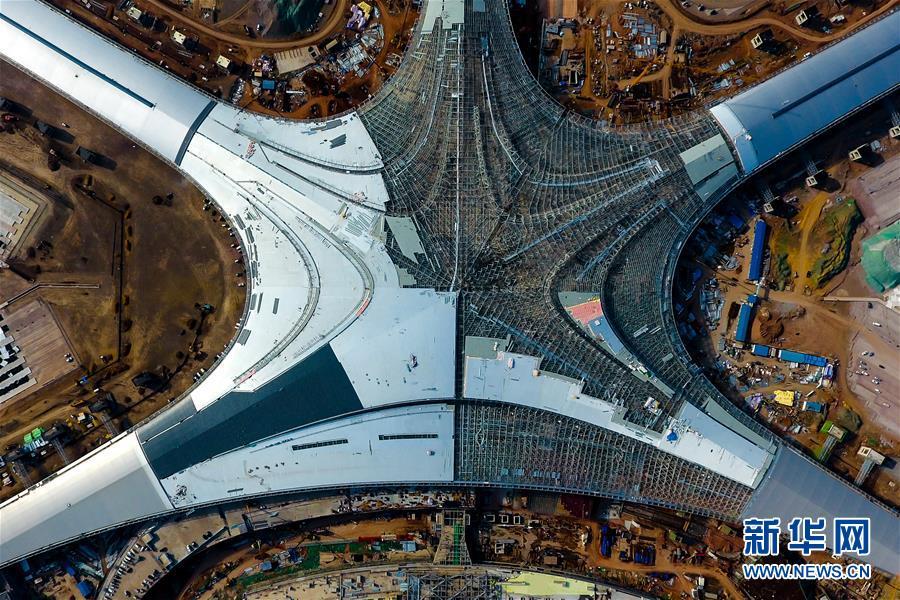 北京赛车pk10直播23:青岛胶东国际机场建设忙