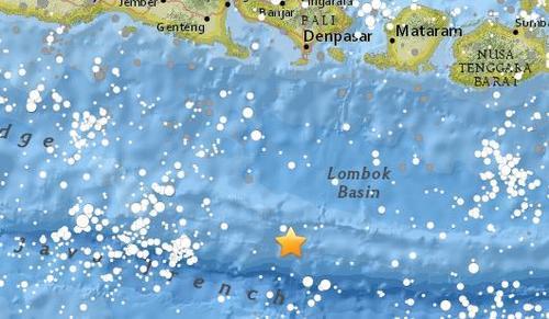 哪个彩票网站是正规的:印尼巴厘岛附近海域发生4.7级地震_震源深度10公里
