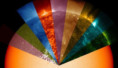 """金沙国际娱乐开户:NASA又发""""紫太阳"""":似一团花球_充满神秘色彩"""
