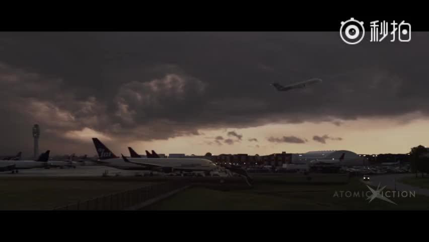电影中坠机的特效是怎么做出来的?