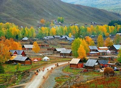 新疆白哈巴景区可自驾进入