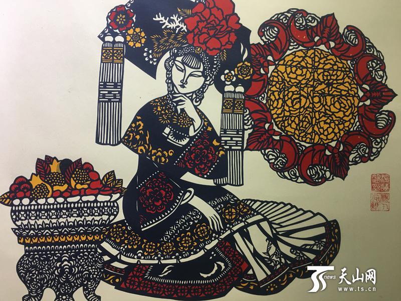 澳门电玩城网址:全国九省市区240幅农民画、剪纸优秀作品亮相新疆
