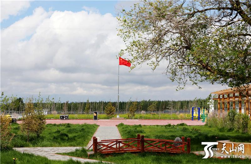 居玛拜村:村容村貌生巨变 秀美乡村入画来