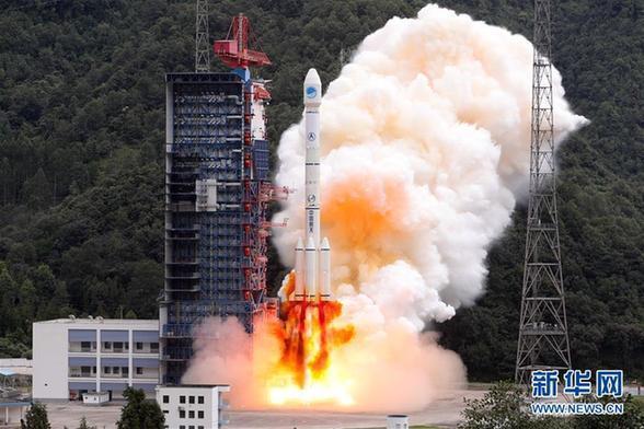 """美媒:中国北斗导航再添两星 """"太空丝绸之路"""""""