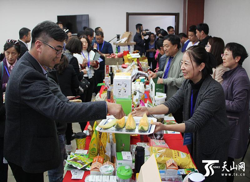 第九届新疆农产品北京交易会产销对接签约7750万元