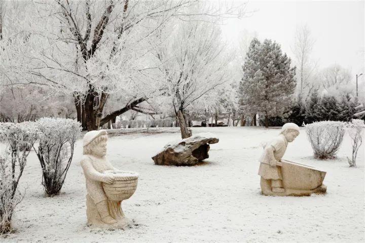 刘嘉玲美女人体囹�a_【最美雪桦】哈巴河:冬之美