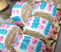 #糕点 看一下蛋糕拉花成品