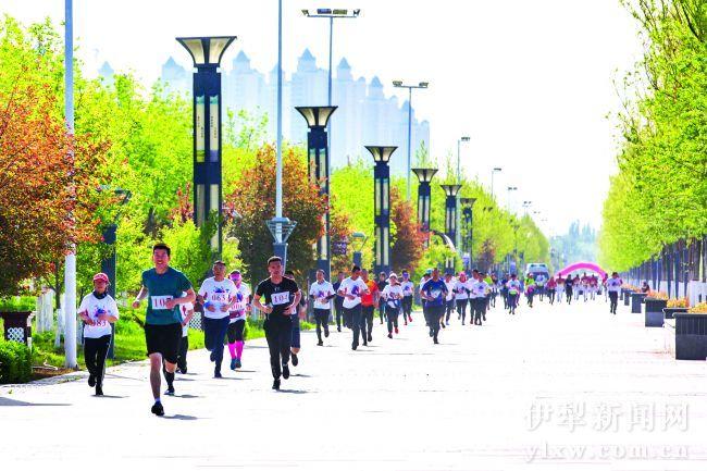 伊宁市举行环伊犁河全民健身系列活动