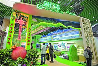 探访北京世园会新疆展园