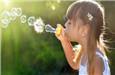 儿童吹泡泡对健康有益