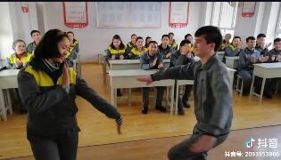学员跳双人舞长视频来一段