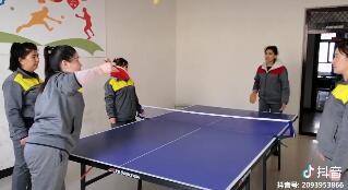 室内乒乓球来一组
