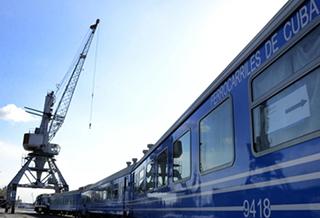中国车辆助力古巴铁路客运