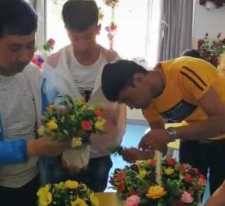 花艺培训 男学员也可以成为好花艺师