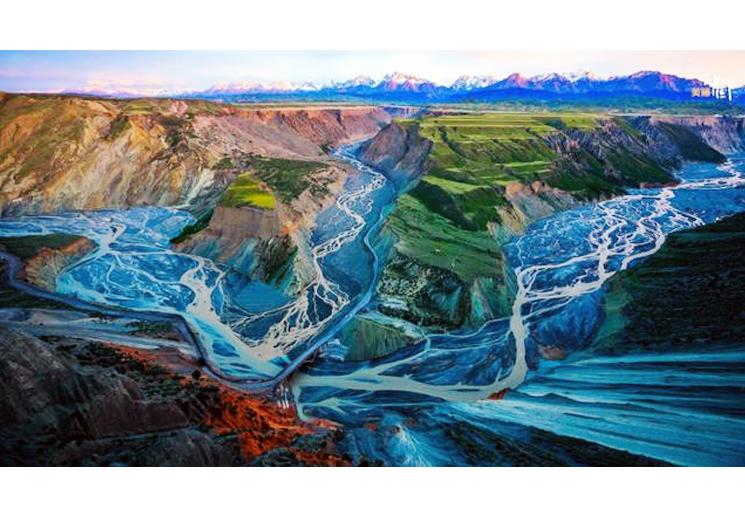 每日一景丨新疆塔城:安集海大峡谷