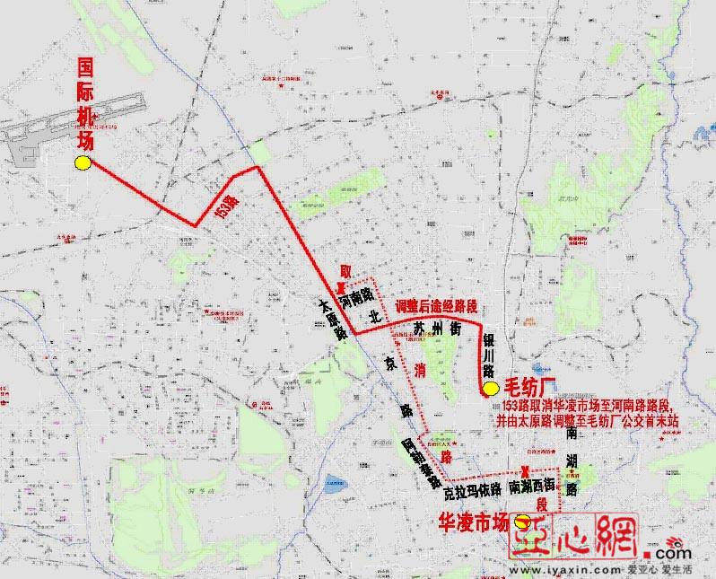 153路线路图