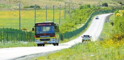 乌鲁木齐县开通三条县城公交、村村通班线