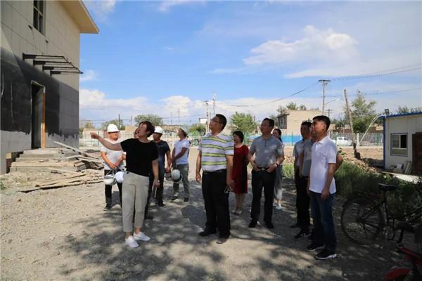 福建援疆前方指挥部对奇台县2019年援疆项目展开检查