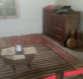 这里是库尔班吐鲁木的卧室