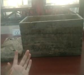 这是库尔班吐鲁木的木箱!