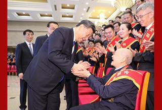 習近平會見全國退役軍人工作會議代表