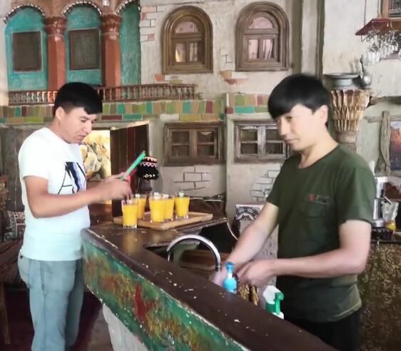 下次来喀什 欢迎你们到老城角落咖啡厅坐一坐