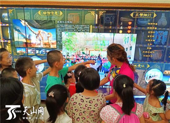 吐鲁番博物馆新体验:你身边的史前巨犀会复活!