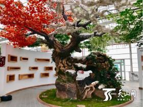 第八届中国(新疆)苗木花卉博览会开幕