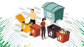 杭州垃圾分类引领新时尚