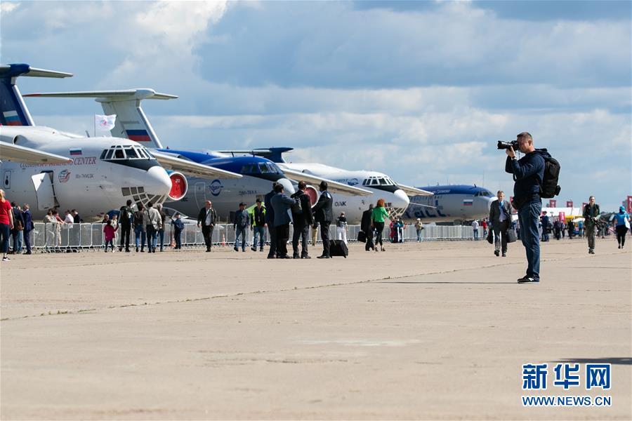 第14届莫斯科航展开幕