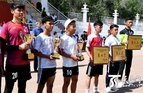 2019年自治区青少年校园足球联赛鸣金