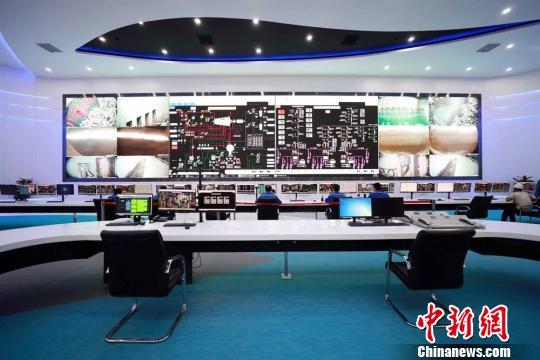 老港再生能源利用中心二期中央控制室 芊烨 摄