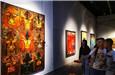 全国美展综合材料绘画展举办