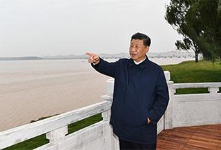 习近平在郑州考察