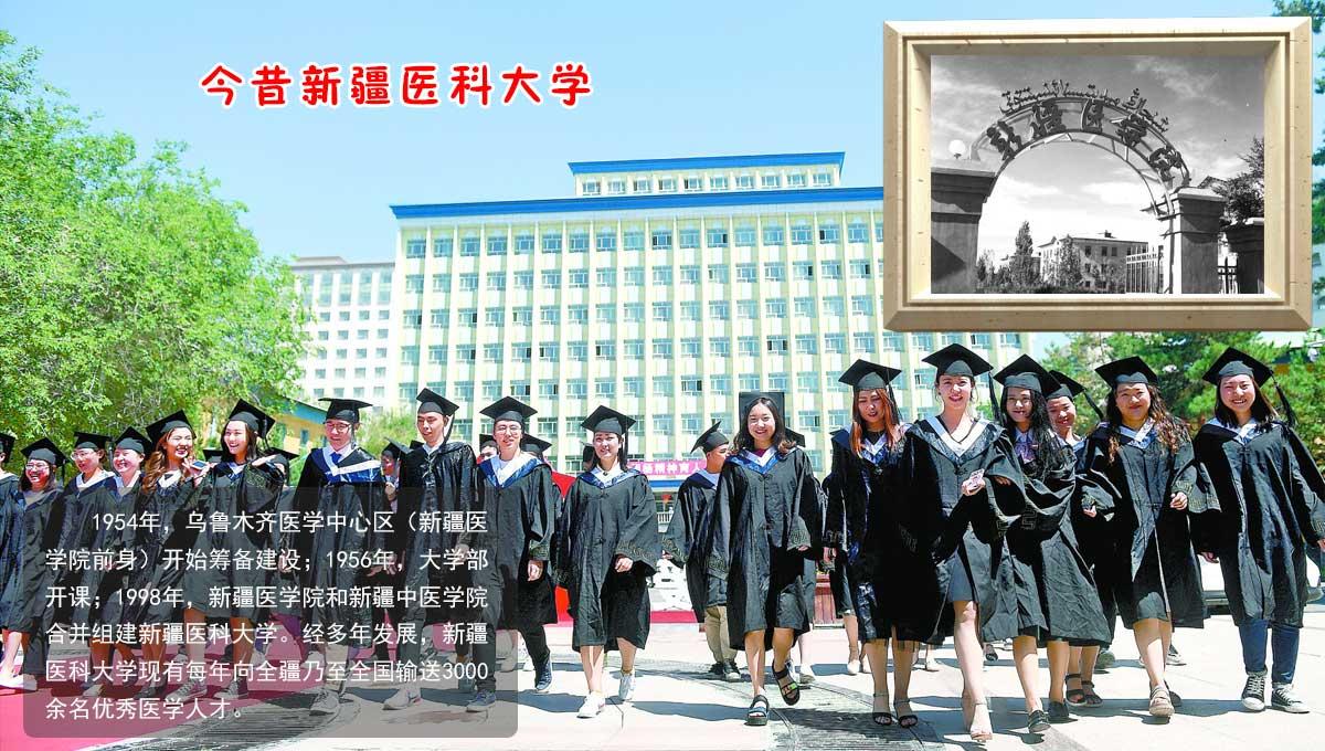 今昔新疆医科大学
