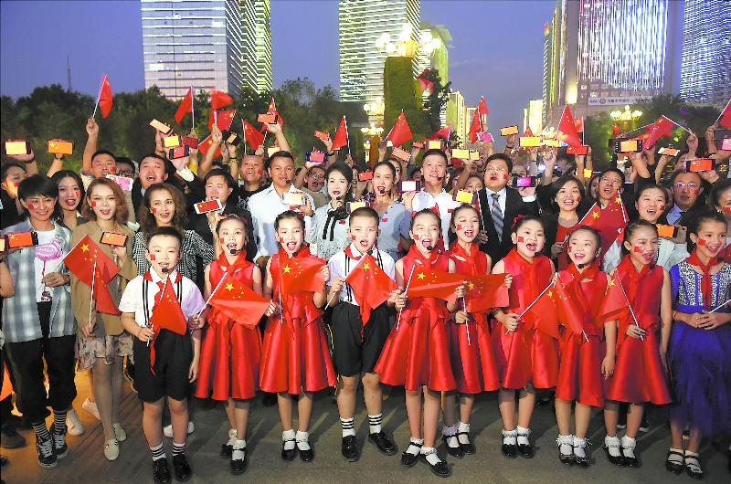 【壮丽70年 ・ 奋斗新时代】乌鲁木齐华灯璀璨欢庆新中国成立70周