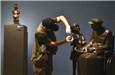 庆祝新中国成立70周年美术展开幕