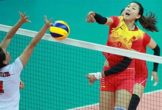 军运会 | 中国八一女排3:0轻取美国女排