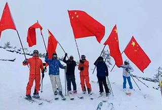 首滑!新疆阿勒泰冰雪旅游盛宴开启