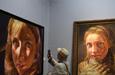 数百幅中国油画作品亮相兰州